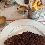 Yummy Steak & Chips