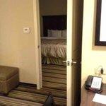 Bedroom is separate