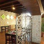 Salle de restaurant de La Cyber Taverne