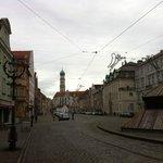 Максимилианштрассе - уентральная улица
