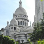 coming up the back way to Sacre Coeur