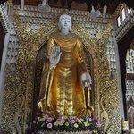 the big standing Buddha