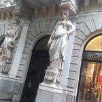 Budapest - Andrassy Avenue - sehr elegant und schön