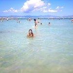 Playa del arenal (junto al puerto)