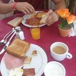 Desayuno delicioso
