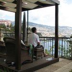 View from 'outdoor rooms' over Funchal & harbour