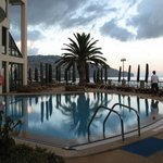 Indoor/outdoor freshwater pool area