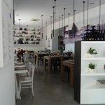 Interno della sala-ristorante TintoBrace
