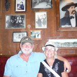 lunch at Saloon No. 10 in Deadwood