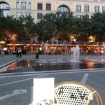 View from Baglios onto Nelson Mandela Square