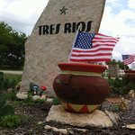 Our front flowerbed here at Tres Rios.