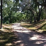 Walk along the Brazos on this shady trail!