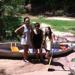 Canoeing is a past time here!