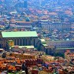 Monastero di Santa Chiara visto dall'alto
