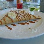 Le Mexican Crepe at La Plaza crepe restaurant
