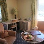 Eiger Suite living area