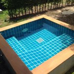 A private pool for pool villa category. ��