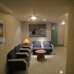 hall d'accès aux chambres