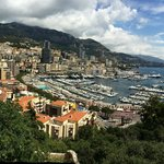 Monaco from the Royal Palace - wow!