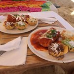 Our Fabulous Lunch - Wet Burritos... YUM