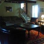 Sitting room in oldest part of inn