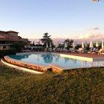 Borgo di Cortefreda pool area