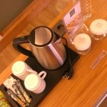 Coffee maker and mini bar