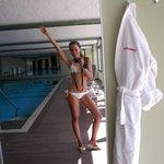 piscina interna/wellness area