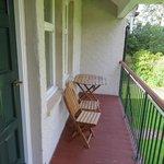 Balcony of Riverside room