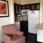 Kitchen area room 412