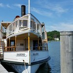 30-minute boat ride on the coal-operated Sabino