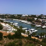 Overlooking the marina from our balcony, wow!