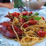 Generous lobster portions