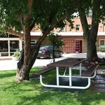 Picnic Area in our Courtyard