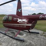 Our helicopter for the VIP London sightseeing tour