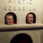 Family fun at Mystic aquarium