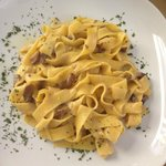 Fettucini with Mushrooms Mmmm