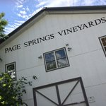 Visit to Page Springs Vineyard