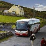 Beside bus stop in Doolin