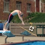 diving board was a hit!