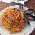 Paella from 'El Caldero