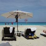 Beach view at Sun Palace Resort