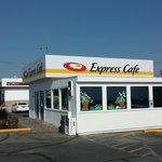 The outside of the Express Cafe, Meridian, Idaho.