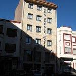El Hotel Doña Urraca en agosto de 2010