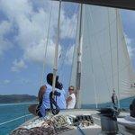 Our sailing trip