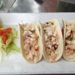 Lobster Tacos at Agave