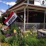 Wonderful food and atmosphere here at Emily's Lighthouse. The salmon sandwich, wild rice soup, a