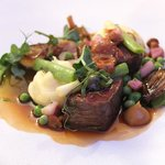 the Northumbria beef - what a dish!