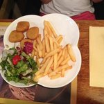 Menu enfants nuggets - frites