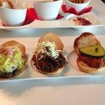 FLIP Trio Burger Sampler